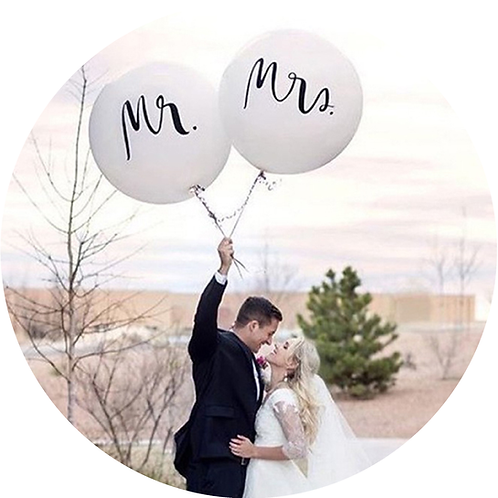 Mrs. & Mr. Ballon Set XXL