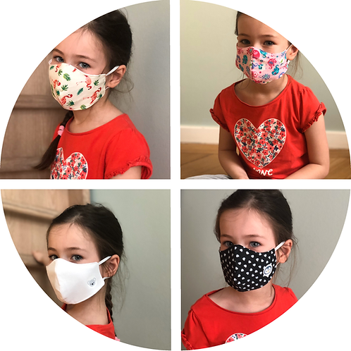 Maske Kinder, Kindermaske, Maskenpflicht, Mundschutz, Coronamaske, personalisiert, Sticker