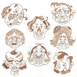 「funny face#1」