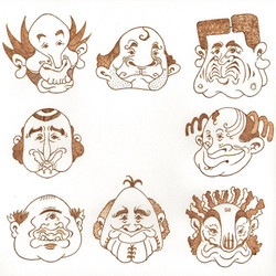 「funny face#2」