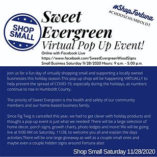 Sweet Evergreen Pop up at Cornerstone.jp