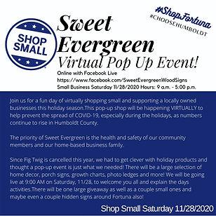 Sweet Evergreen Pop up at Cornerstone.jp