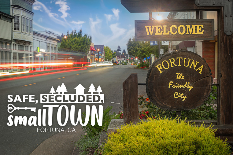 Welcome to Fortuna 9th and Main Street