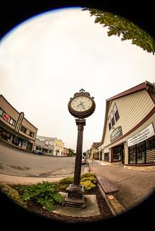 Centennial Clock 11th & Main Street