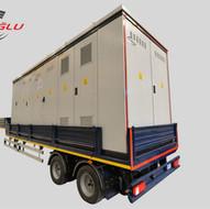 eroglu transformer carry semi trailer