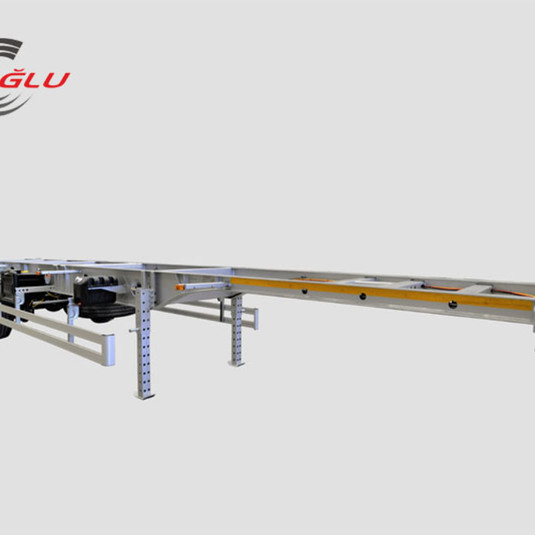 eroglu container carry semi trailer
