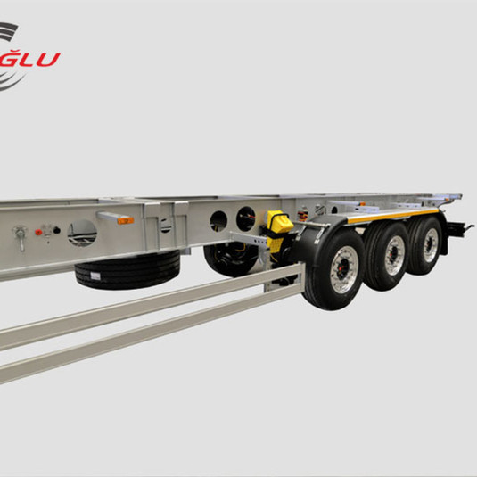 container carry semi trailer