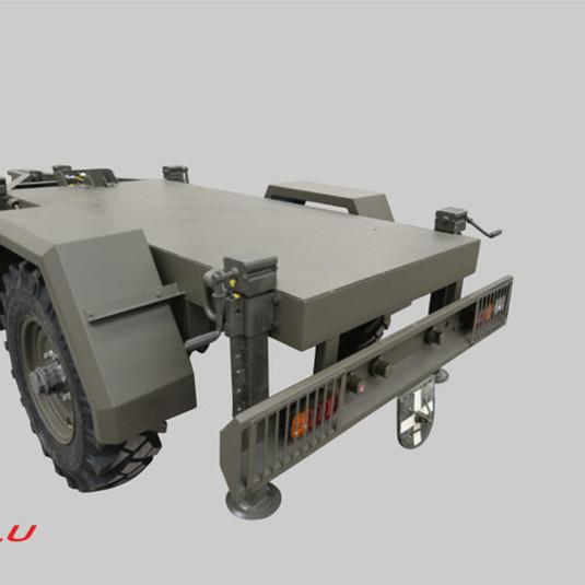 military generator trailer