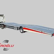car transporter semi trailer