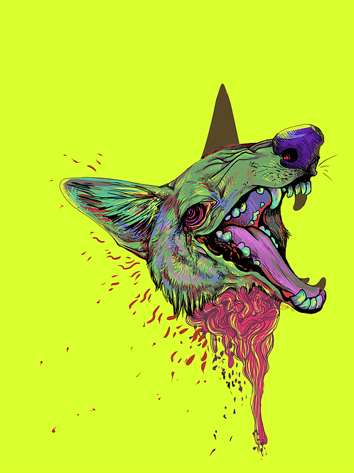 Coyote Ugly Print