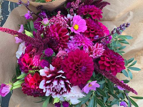 8 week summer/fall bouquet subscription