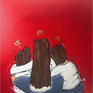 Sibling love. Another happy client. 18x2