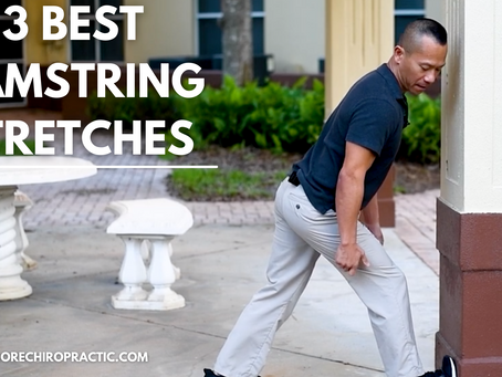 3 Best Hamstring Stretches