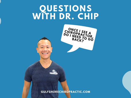 Once I see a Chiropractor, do I need to go back?