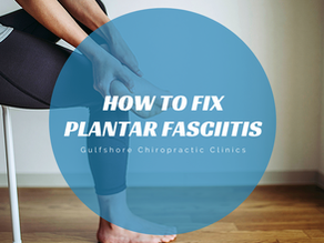 How To Fix Plantar Fasciitis