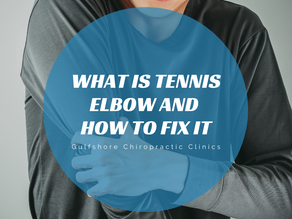 What is Tennis Elbow and How to Fix It