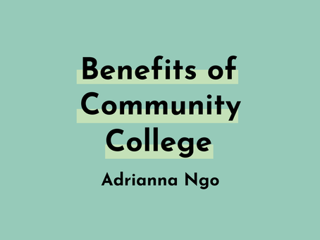 The Benefits of Community College