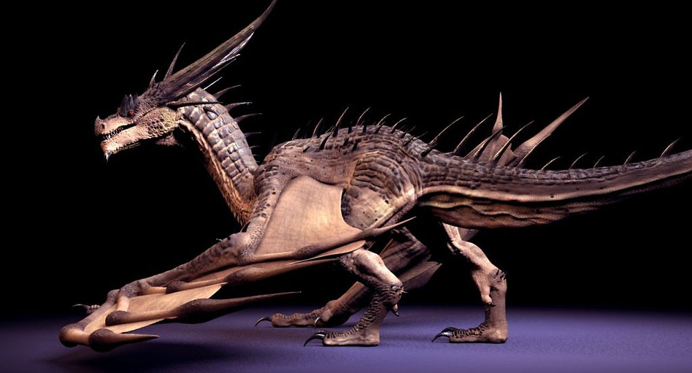 Dragon rig Maya