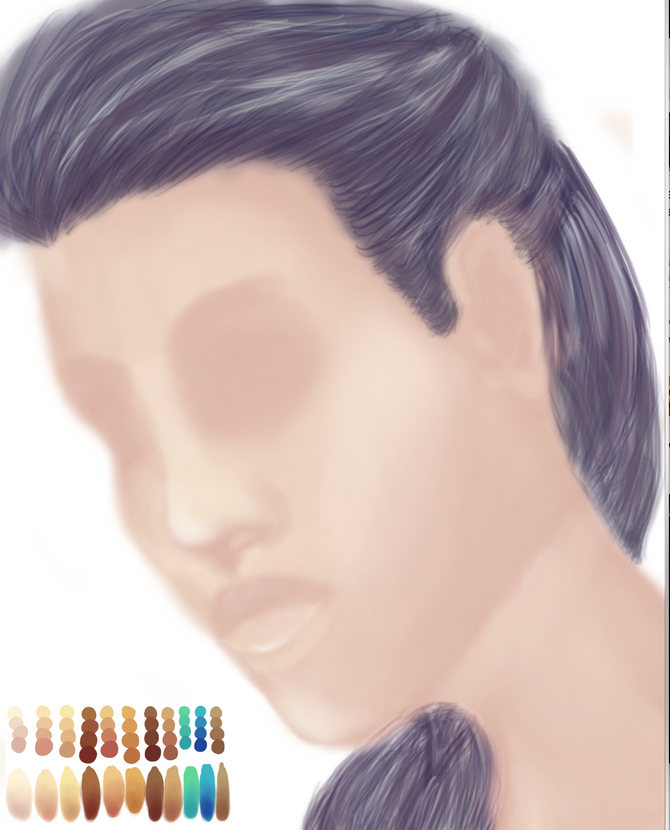 Trying out digital painting
