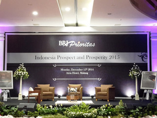 Fasilitator for Seminar Indonesia Prospect and Prosperity 2015 by PT. Bank Rakyat Indonesia (Persero