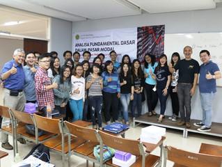 Belajar Pasar Modal for Universitas Katolik Parahyangan Bandung