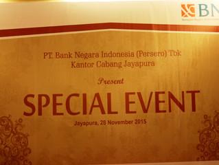 Fasilitator for Investor Gathering Bank BNI Cabang Jayapura