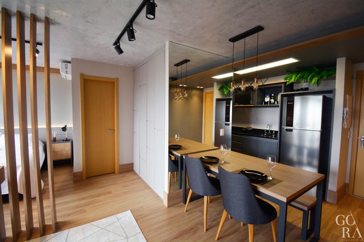 Apartamento Stúdio | Ambientes integrados
