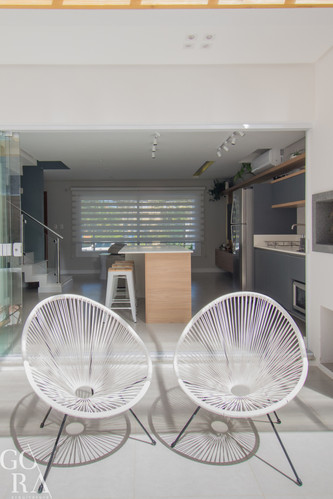 Integração área social | Casa compacta