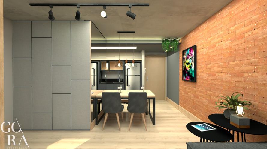 Apartamento Stúdio | Imagem projeto