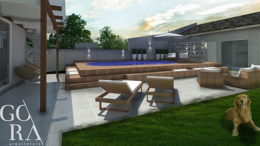 Lounge Externo | Imagem Projeto
