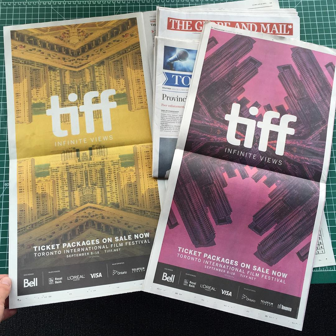 TIFF '16 newspapers