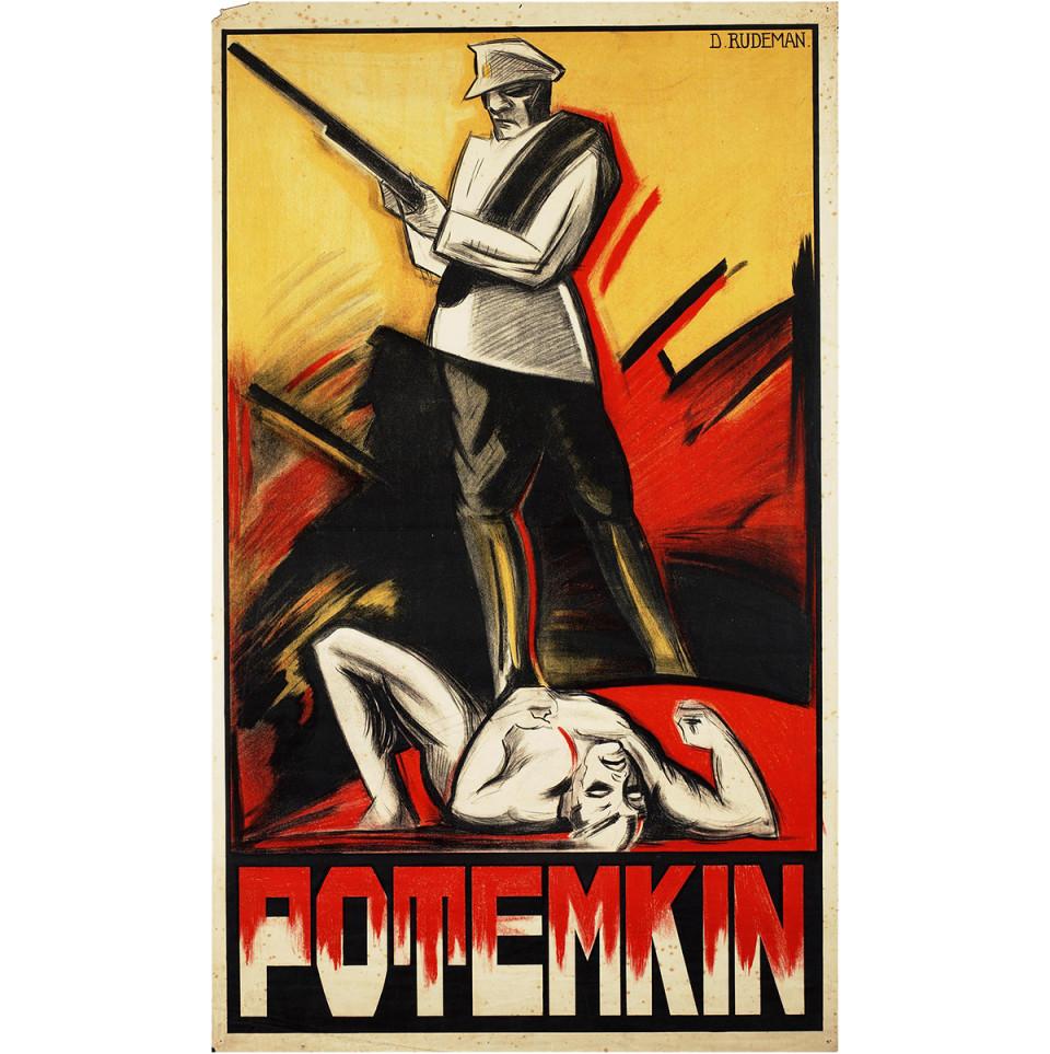 Battleship Potemkin, Dutch poster by Dolly Rudeman (1926)