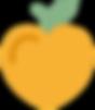Icon: Heart-shaped Apple