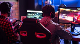 Jugando videojuegos