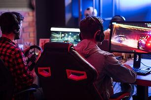 Jogando video games