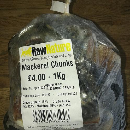 Mackerel Chunks 1KG