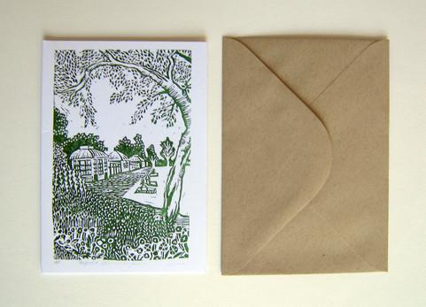 Sheffield Botanical Gardens Card