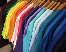 Tee-shirt gamme couleur