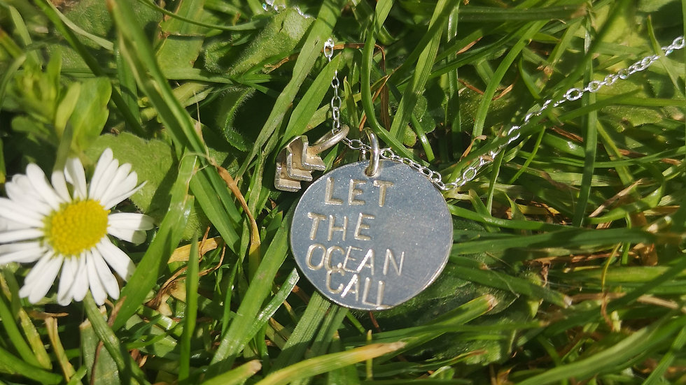 Let The Ocean Call Pendant