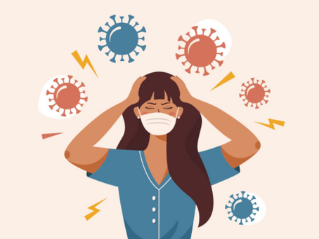 How Anxiety and COVID-Fatigue can Affect your Skin