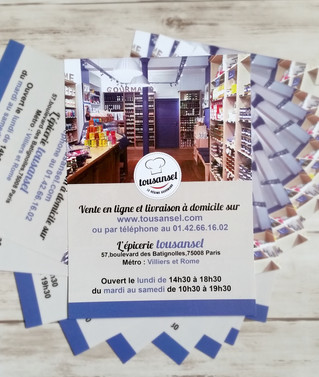 Magasin Tousansel à Paris