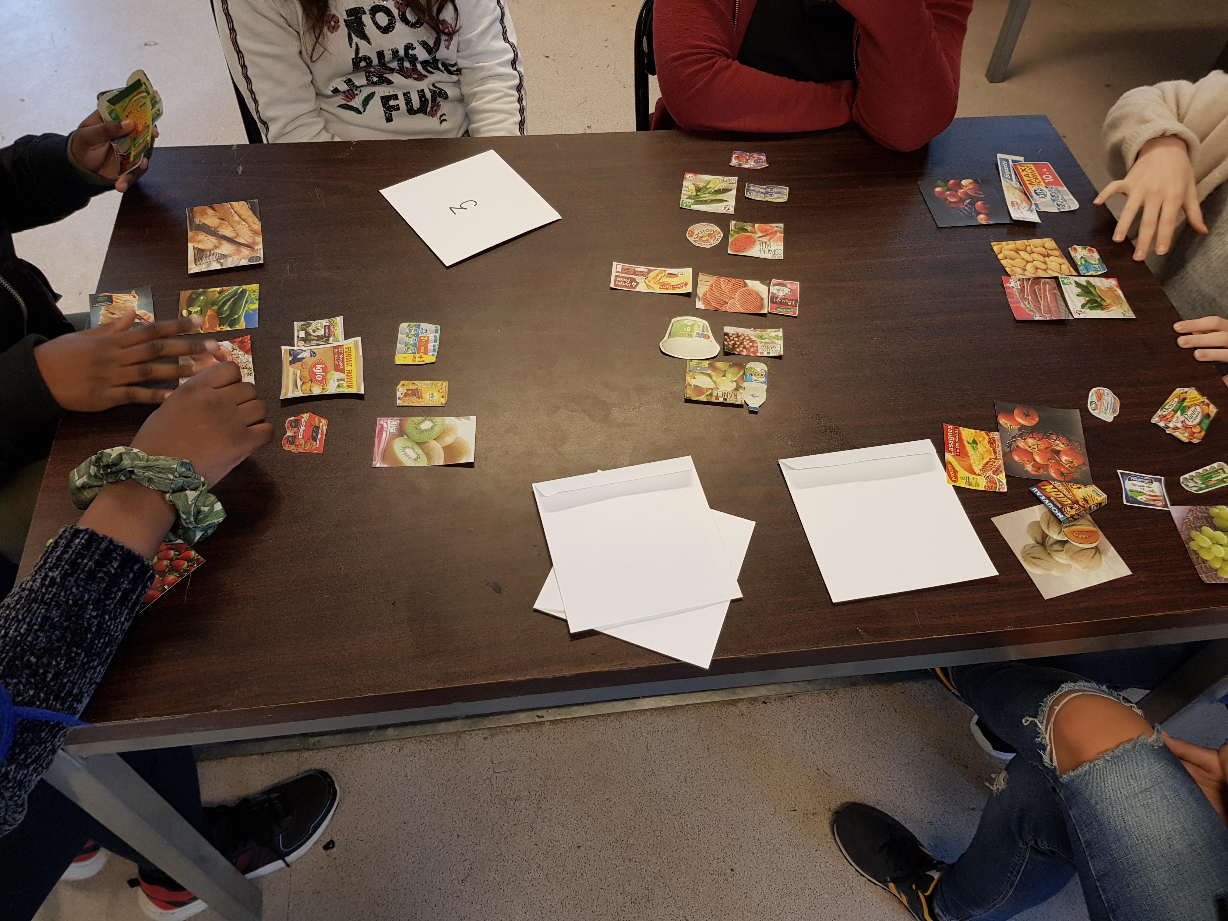 Atelier lecture d'étiquette
