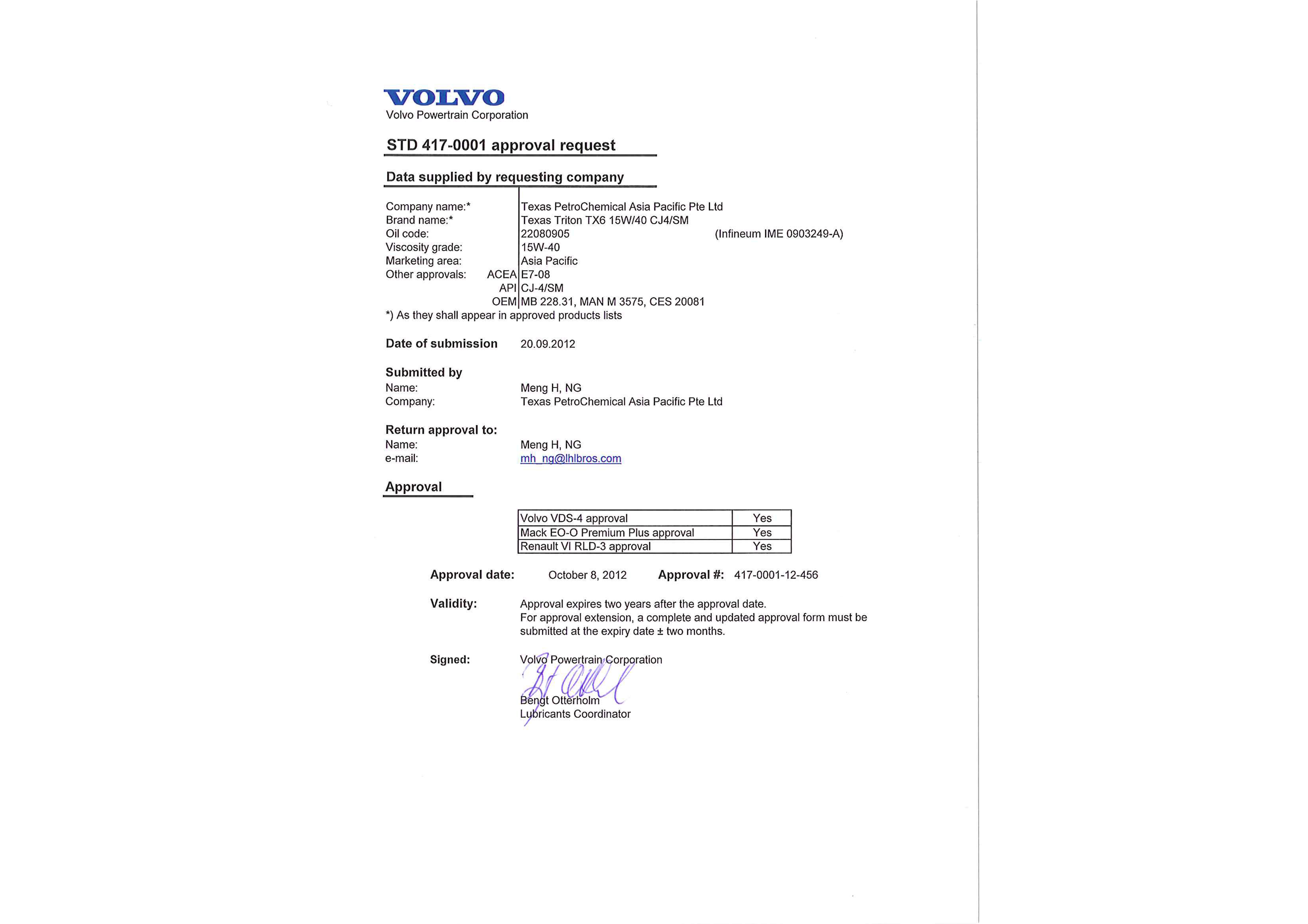 Volvo VDS4