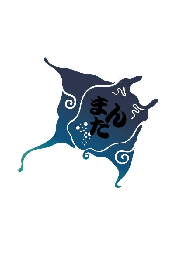 居酒屋まんた ロゴデザイン