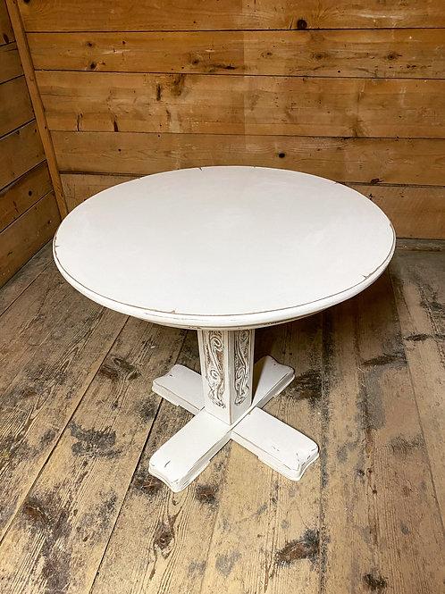 """Antiker kleiner Tisch/Beistelltisch """"Shabby chic"""""""