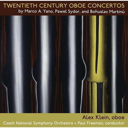 Twentieth Century Oboe Concertos (2 CD set)