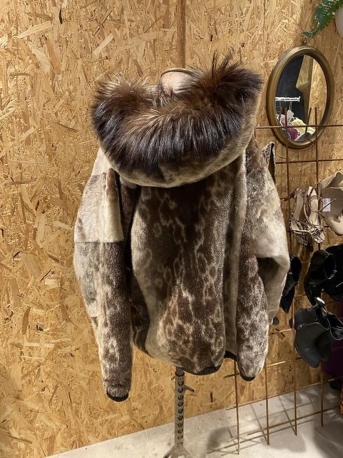 Sælskindsjakke med pels