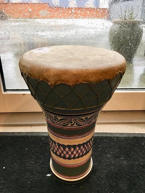 Retro tromme i keramik