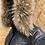 Thumbnail: Sort læderjakke med pels