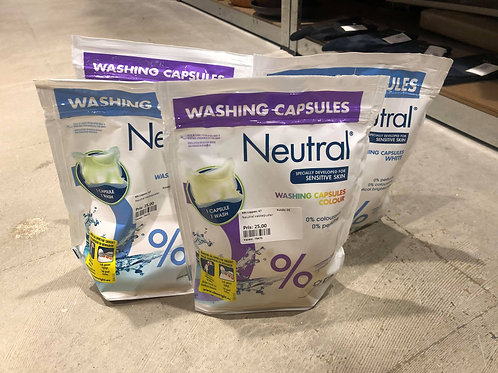 Neutral vaskekapsler 4 stk